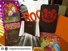 #Repost @maplemousemama with @repostapp ・・・ What better way to say Happy Halloween then with a sweet and scary #greetingcard from @carltoncards 🎃 The cute #DisneyPrincess one caught my eye, of course, but the spooky ones are so much fun! There's even a neat game for the kiddos attached to one. Why not go #oldschool this #Halloween and send a card through the mail!