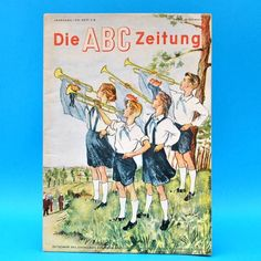 ABC-Zeitung 7/8-1952 Zeitschrift für Junge Pioniere