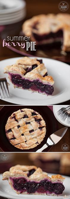 There is no better way to celebrate the longer and warmer days than to enjoy a delicious, tart yet perfectly sweet, Summer Berry Pie with friends & family.
