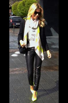 Sylvie Meis, love the outfit!