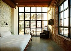 wythe hotel new york brooklyn - industrial chic
