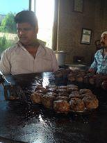 All set for fresh #BunTikkas in #Delhi