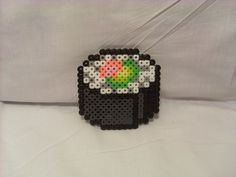 DeviantArt: More Like Perler Sushi Roll by smellblind