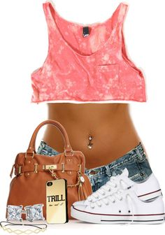 """SUMMER"" by imoni-dixon ❤ liked on Polyvore"