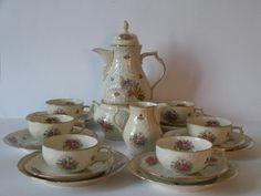 SERWIS KAWOWY ROSENTHAL - SANSSOUCI Sugar Bowl, Bowl Set, Antiques, Antiquities, Antique, Old Stuff