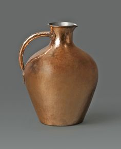 Dirk van Erp Hammered Copper Pitcher