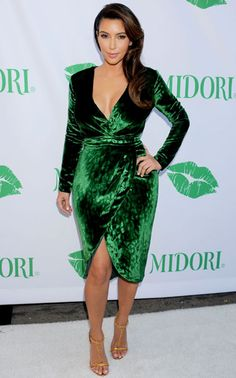 Kim Kardashian at the Midori Makeover Parlor in Los Angeles