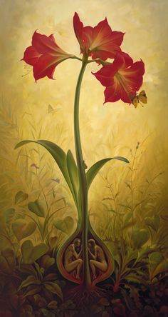 Vladimir Kush, Amaryllis. The Pawn. Exhibition June 14 to July 4.