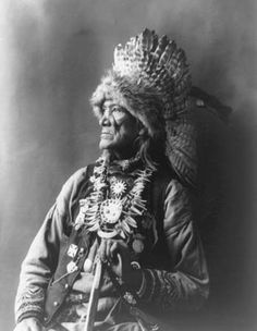 Chief Red Cloud of the Haudenosaunee (Iroquois) Confederacy, Cayuga Nation