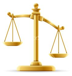 Unbalanced scale of justice vector by jhansen2 - Image #1805890 ...