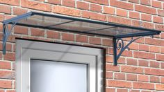 Features:  -Protects entryway from sun, rain, hail and snow damage.  -100% UV…