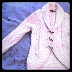 Fabulously soft and warm Brooks Brothers Cardigan! Extra fine Italian Merino, extremely soft and warm. Three wooden bead button front closure. Great with jeans or leggings! Worn once, sadly it's too big for me and it's time to find it a home so it can be worn. Brooks Brothers Sweaters Cardigans