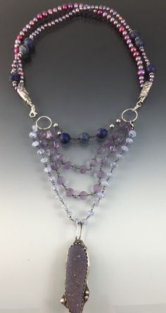 A personal favorite from my Etsy shop https://www.etsy.com/listing/227750871/multilayered-gemstone-and-sterling