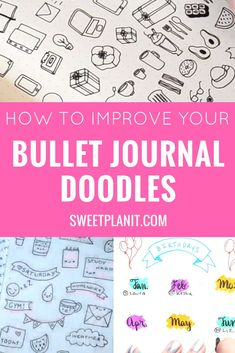 How to improve your bullet journal doodles! Drawing and doodling is for everyone. Lots of fun and easy to draw doodles that are perfect for your planner or bullet journal. Bullet Journal Contents, Bullet Journal Hacks, Bullet Journal How To Start A, Bullet Journal Layout, Bullet Journal Inspiration, Journal Ideas, Bullet Journals, Doodle For Beginners, Planner Doodles