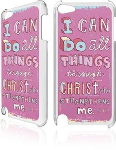 Skinit Philippians 4:13 Pink for LeNu Case for Apple iPod Touch (5th Gen) by Skinit. $19.99. Skinit's LeNu cases are the next generation of style and protection for your device. These single piece, protective snap cases guard your electronic device from damage due to scratches, dirt, and daily use.. Save 20% Off!