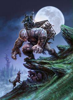 The Dark Fantasy Art of Koveck   Digital Artist