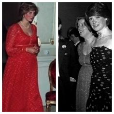 This gorgeous maternity dress was worn by Diana whilst pregnant with William and then passed to her sister Jane