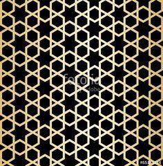 desen, motif - Buy this stock vector and explore similar vectors at Adobe Stock Motif Vector, Vector Pattern, Geometric Designs, Geometric Patterns, Arabic Design, Grill Design, Stencil Patterns, Motif Design, Inspiration Wall