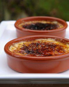 Crema catalana - Spanish style burnt custard cream - Laylita's Recipes