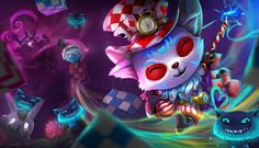 Alice in Wonderland Teemo - League of Legends