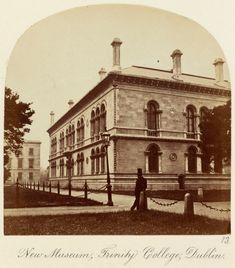 'New Museum, Trinity College, Dublin' c.1860