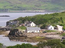 Cottages at Ord, Sleat, Isle of Skye