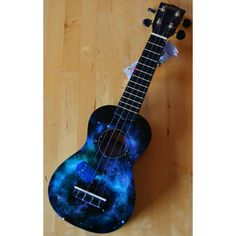 Doctor Who Tardis Ukulele ($75) ❤ liked on Polyvore featuring instruments, accessories and doctor who
