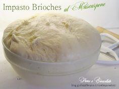 Ricetta Impasto Brioches al Mascarpone