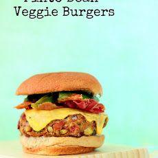 Tex-Mex Pinto Bean Burgers Recipe