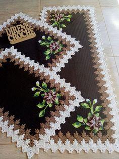 Crochet Home, Crochet Granny, Crochet Doilies, Hand Crochet, Embroidery Works, Hand Embroidery, Mehndi Design Images, Crochet Decoration, Crochet Snowflakes