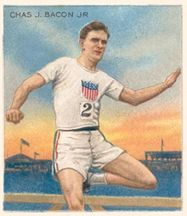 Charles Bacon track and field pictures | Learn and talk about Charles Bacon, American hurdlers, American middle ... OS guld 400 meter häck 1908 London.