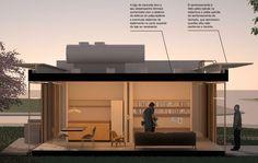 Proposta de arquiteto de Florianópolis ganha concurso para habitação sustentável em PVC :: aU - Arquitetura e Urbanismo