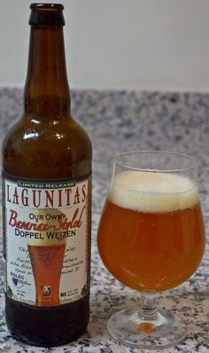 Lagunitas' Bavarian-Style Doppel Weizen - This is a really great example of the elements of a Weizenbock that I really enjoy. There is plenty of yeast character that really comes thorough strong here, with lots of banana and clove. However, the body and the alcohol level keep up and create a nicely balanced beer.