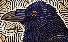 Crow Profile | by Lisa Brawn