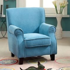 Greta Blue Kids Chair - CM6003BL