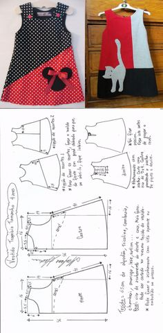 Toddler Sewing Patterns, Kids Clothes Patterns, Kids Dress Patterns, Clothing Patterns, Girls Dresses Sewing, Little Girl Dresses, Kids Dress Wear, Baby Frocks Designs, Fashion Sewing