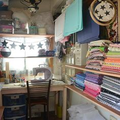 Lovely sewing space!