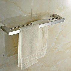 Set Inlcude:Towel Bars, * Style:Contemporary, * Finish:Mirror Polished, * Material:Stainless Steel, * (Placed within the Amazon Associates program) * 15:24 Mar 18 2017