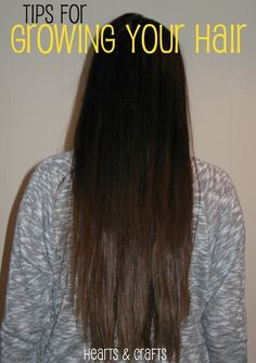 Healthy Hair Growth Tips @Jessica Sutton Long