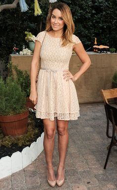 Nude 'Tude from Lauren Conrad's 10 Best Looks | E! Online
