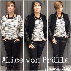 Raglansweat Alice von Prülla genäht von ganzmeinding