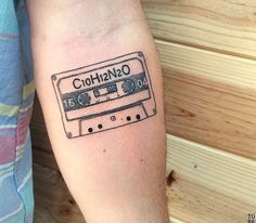 Tattoo #90skid#tape