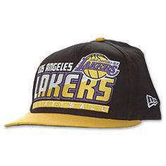 Los Angeles Lakers Slice Snapback Hat