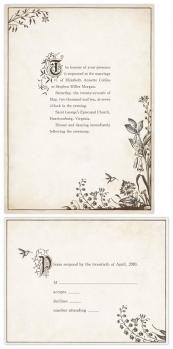 Storybook Wedding Invitations!