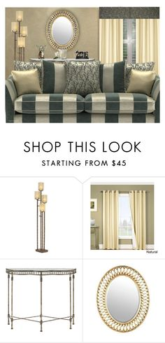 """""""OPULENCE"""" by arjanadesign ❤ liked on Polyvore featuring interior, interiors, interior design, home, home decor, interior decorating, Currey & Company, Waterford, Home and Luxe"""