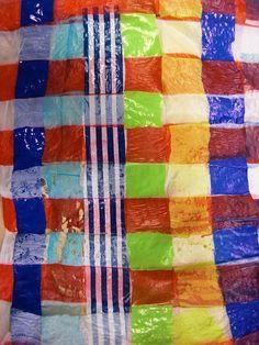 woven heat fused plastic