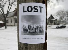 lost is...lost