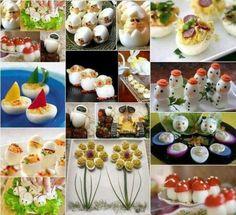Inšpirujte sa a vytvorte prekrásne predjedlá ktoré zaujmu - Báječné recepty Cute Food, Good Food, Yummy Food, Health Benefits Of Eggs, Snacks Für Party, Food Decoration, Fruit Art, Food Crafts, Food Art