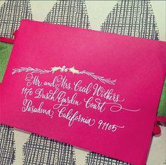Holiday calligraphy | designsgirl