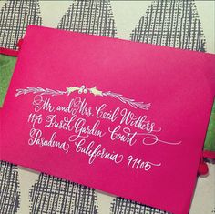 Holiday calligraphy | designsgirl